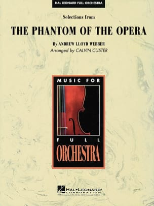 Andrew Lloyd Webber - Selection From The Phantom Of The Opera - Sheet Music - di-arezzo.com