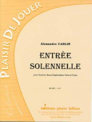 Alexandre Carlin - Entrée solennelle - Partition - di-arezzo.fr