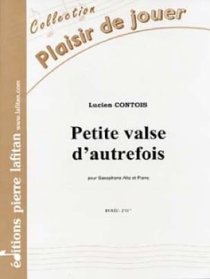 Petite Valse D' Autrefois Lucien Contois Partition laflutedepan