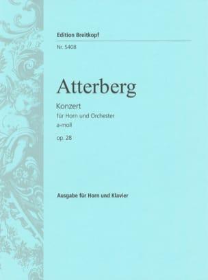 Kurt Atterberg - Concerto A-Moll Opus 28 - Partition - di-arezzo.fr