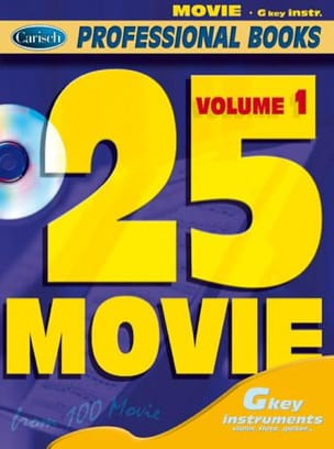 - 25 Movie Volume 1 - Professional Books - Sheet Music - di-arezzo.co.uk