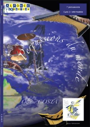 Percussions du Monde Olivier Costa Partition laflutedepan