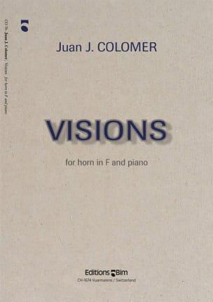 Juan J. Colomer - visions - Sheet Music - di-arezzo.com