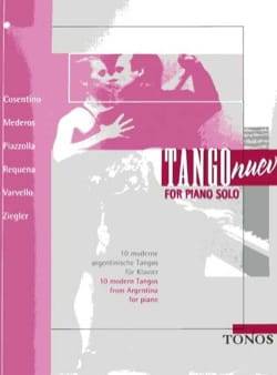 Tango Nuevo For Piano Solo - Sheet Music - di-arezzo.com