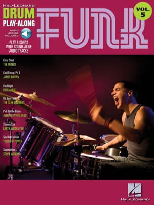 Drum play-along volume 5 - Funk - Sheet Music - di-arezzo.co.uk