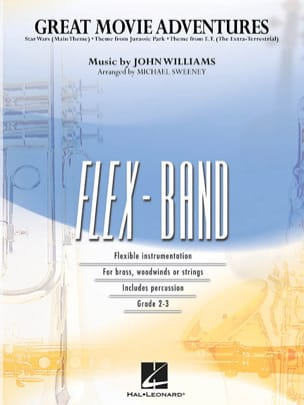 John Williams - Great Movie Adventures - FlexBand - Partitura - di-arezzo.it