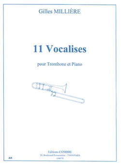 Gilles Millière - 11 Vocalises - Sheet Music - di-arezzo.co.uk
