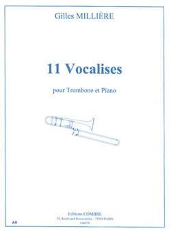 Gilles Millière - 11 Vocalises - Partition - di-arezzo.fr