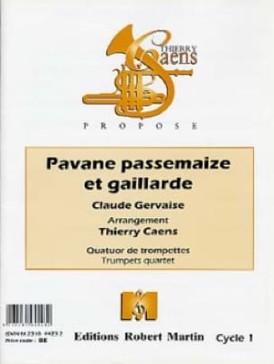 Claude Gervaise - Pavane Passemaize And Gaillarde - Sheet Music - di-arezzo.co.uk