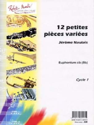 12 Petites Pièces Variées Sib Jérôme Naulais Partition laflutedepan