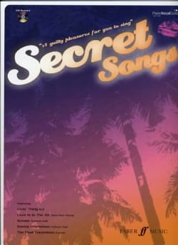 Secret Songs - Partition - di-arezzo.fr