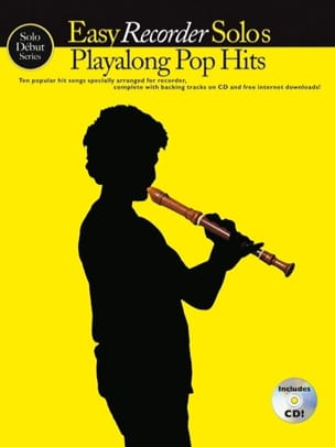 - Easy Recorder Solos Playalong Pop Hits - Sheet Music - di-arezzo.com