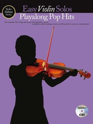 Easy Violin Solos Playalong Pop Hits - Partition - di-arezzo.fr