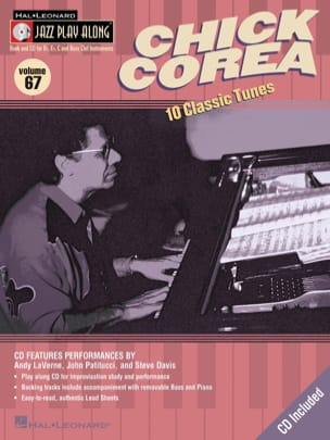 Chick Corea - Jazz play-along volume 67 - Chick Corea - Sheet Music - di-arezzo.com