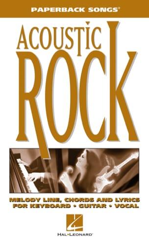 Paperback songs - Acoustic Rock - Partition - laflutedepan.com