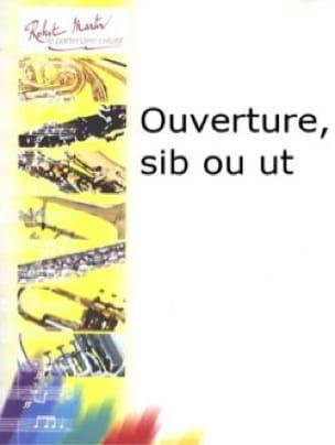 Ouverture - Francine Aubin - Partition - Trompette - laflutedepan.com
