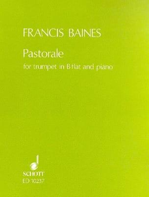 Francis Baines - Pastorale - Partition - di-arezzo.fr