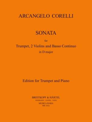 A. Corelli - Sonate en RÉ Majeur - Partition - di-arezzo.fr