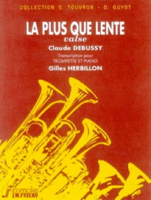 La Plus Que Lente - Valse - DEBUSSY - Partition - laflutedepan.com