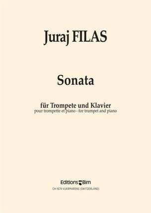 Sonata - Juraj Filas - Partition - Trompette - laflutedepan.com