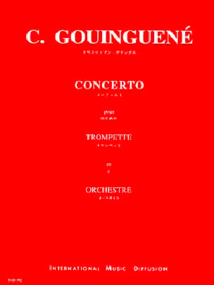 Concerto Christian Gouinguené Partition Trompette - laflutedepan