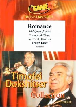 Romance, Oh! Quand Je Dors LISZT Partition Trompette - laflutedepan