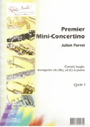 1er Mini-Concertino Julien Porret Partition Trompette - laflutedepan
