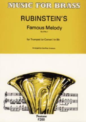 Rubinstein's Famous Melody Opus 3 N° 1 - laflutedepan.com