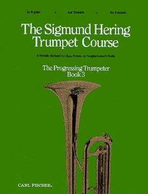 Sigmund Hering - The Sigmund Hering Trumpet Course Book 3 - Partition - di-arezzo.fr