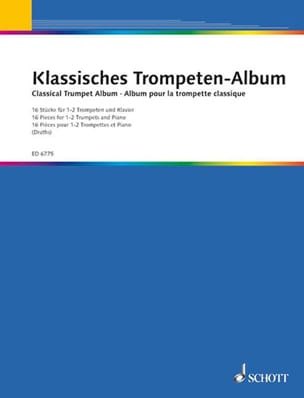 Album Pour la Trompette Classique - Partition - laflutedepan.com