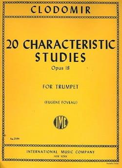 Pierre-François Clodomir - 20 Characteristic Studies Opus 18 - Sheet Music - di-arezzo.com