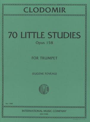 Pierre-François Clodomir - 70 Little Studies, Opus 158 - Sheet Music - di-arezzo.com