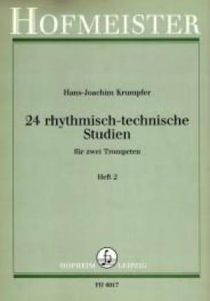 Hans-Joachim Krumpfer - 24 Rhythmisch-Technische Studien Heft 2 - Sheet Music - di-arezzo.com