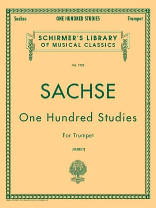 Ernest Sachse - 100 Studies for Trumpet - Sheet Music - di-arezzo.co.uk