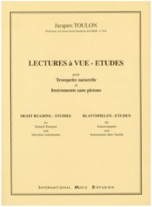 Jacques Toulon - Readings A View-Studies - Sheet Music - di-arezzo.com