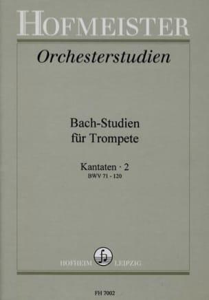- Bach-Studien Für Trompete - Kantaten 2 - Sheet Music - di-arezzo.co.uk