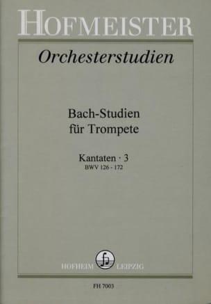 - Bach-Studien Für Trompete - Kantaten 3 - Sheet Music - di-arezzo.co.uk