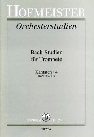 - Bach-Studien Für Trompete - Kantaten 4 - Sheet Music - di-arezzo.co.uk