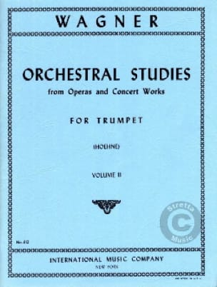 Richard Wagner - Orchestra Studies For Trumpet Volume 2 - Sheet Music - di-arezzo.com