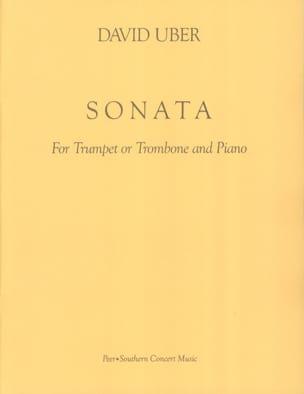 Sonata - David Uber - Partition - Trompette - laflutedepan.com