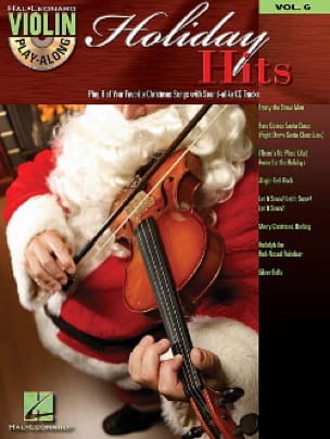 Violin play-along volume 6 - Holiday Hits Partition laflutedepan