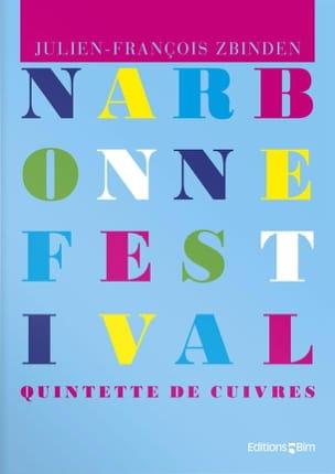 Julien-François Zbinden - Narbonne Festival Opus 80 - Partition - di-arezzo.fr