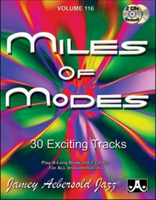 Volume 116 avec 2 CDs - Miles Of Modes METHODE AEBERSOLD laflutedepan