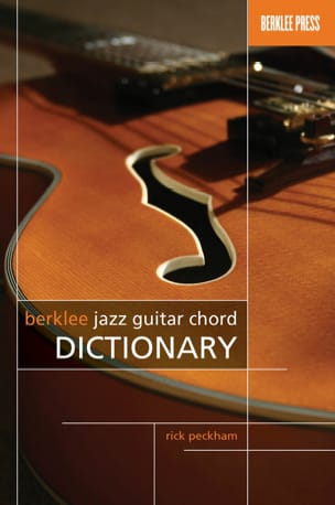 Rick Peckham - Berklee Jazz Guitar Chord Dictionary - Partition - di-arezzo.fr