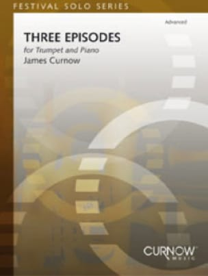 Three Episodes James Curnow Partition Trompette - laflutedepan