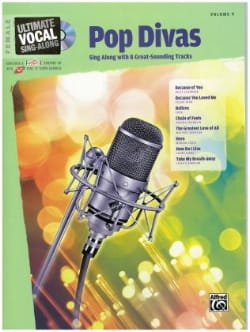 - Volume 9. Pop Divas Femal Voice - Partition - di-arezzo.fr