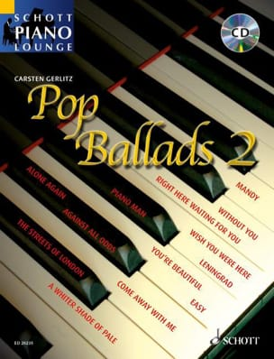 - Pop Ballads 2 - Partition - di-arezzo.fr