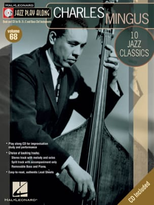 Charles Mingus - Jazz play-along volume 68 - Charles Mingus - Sheet Music - di-arezzo.co.uk