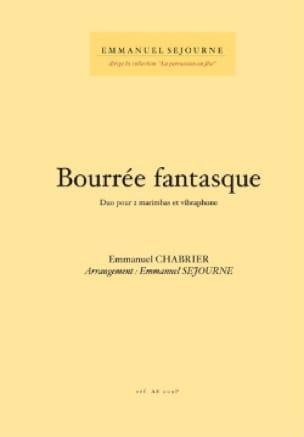 Emmanuel Chabrier - Bourrée Fantasque - Partition - di-arezzo.fr