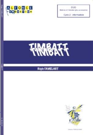 Timbatt Régis Famelart Partition laflutedepan